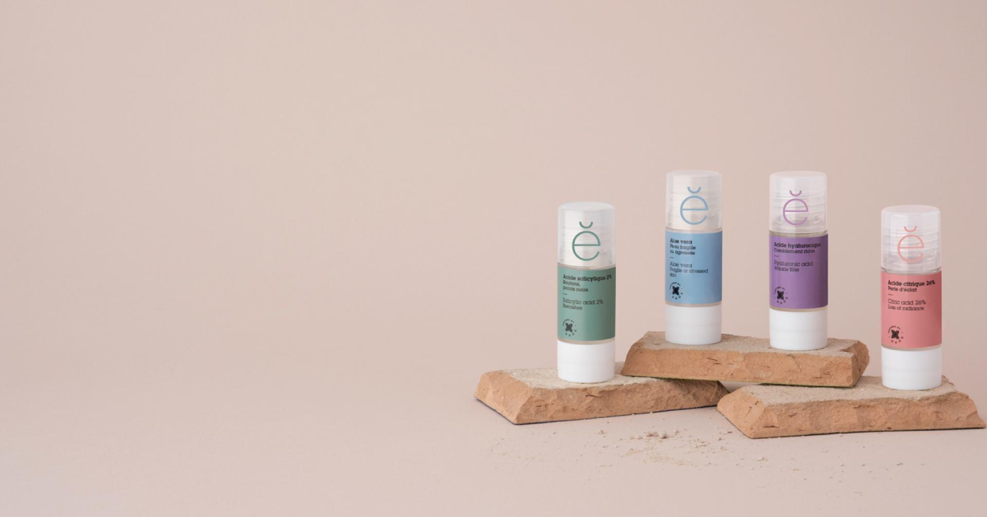 Des Actifs Purs pour traiter de façon ciblée les problèmes de la peau. Seulement quand la peau en a besoin.