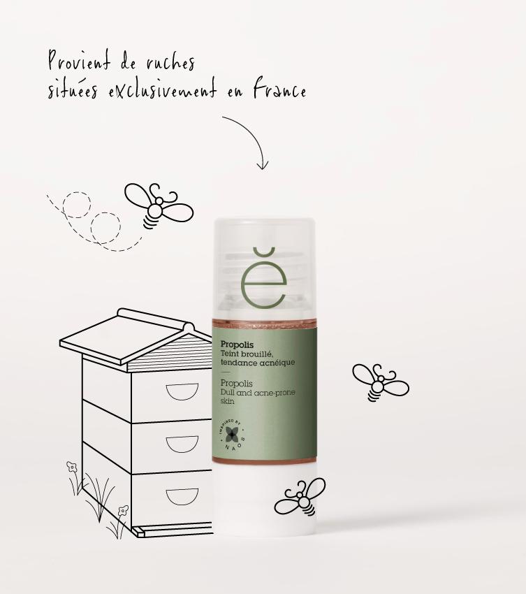 La propolis, traitement naturel contre le teint brouillé